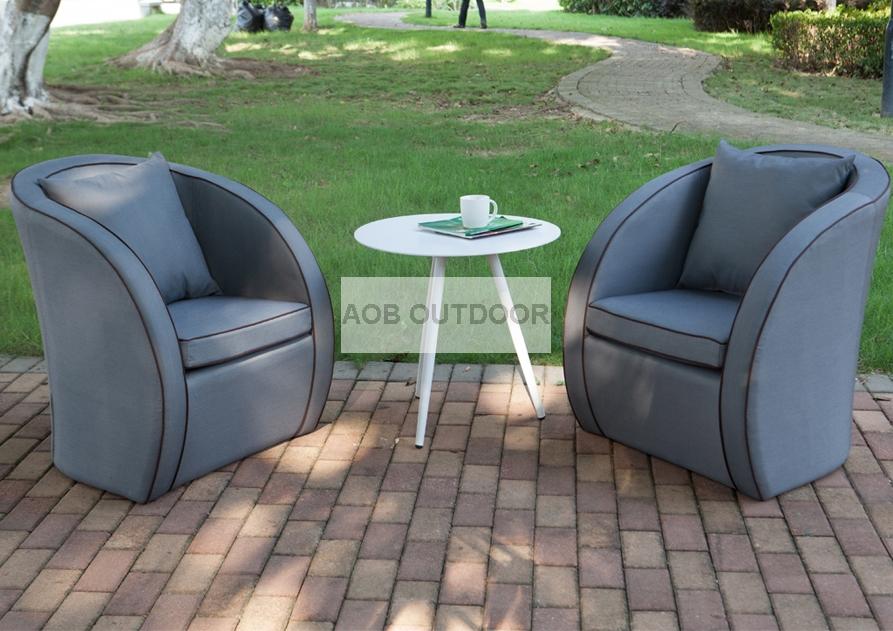 3pcs Outdoor Furniture Fabric Balcony